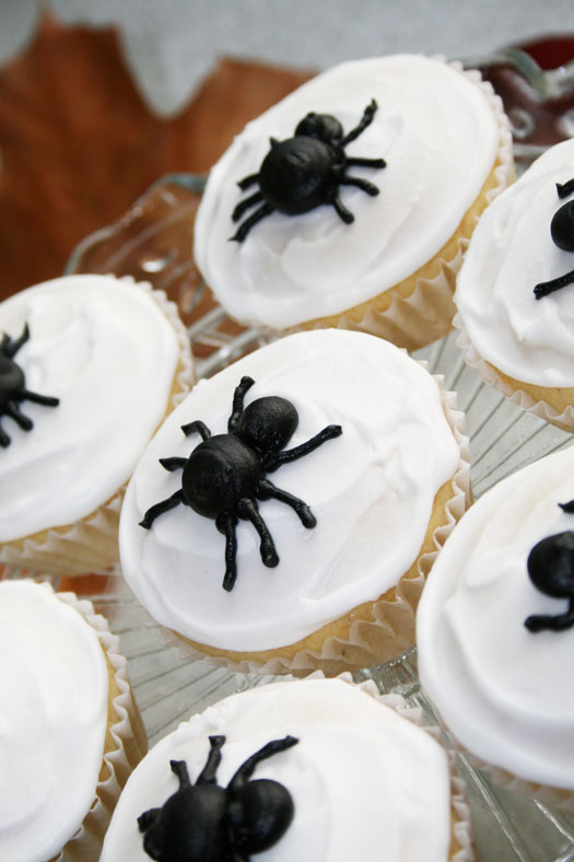 ... spider cupcakes , we've got recipes for a hair- raising Halloween