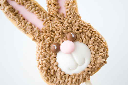 great christmas gifts: bunny cookie lolly